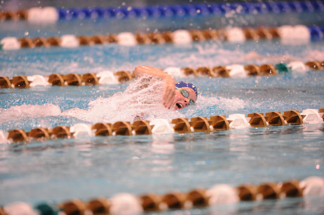 Senior Gracie Fredlake won the 1,650 free and 400 IM Friday night at Rolfs Aquatic Center.