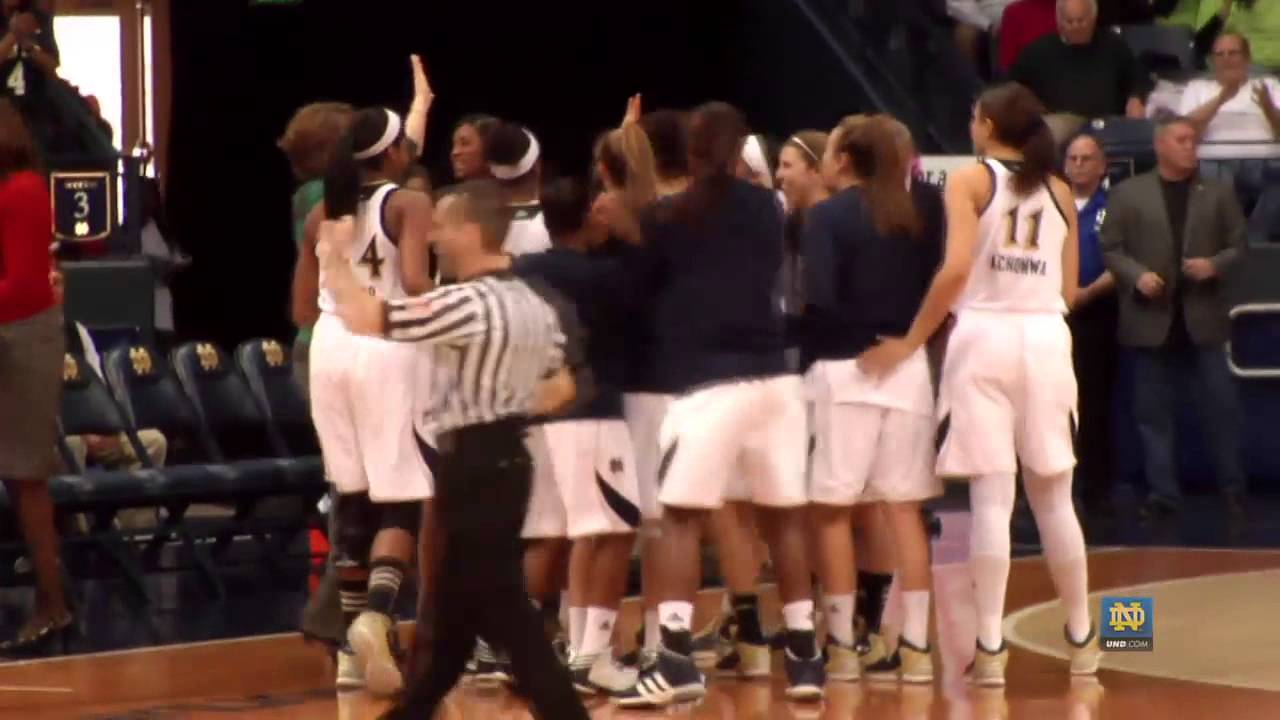 Skylar Diggins' 2000th Point - Notre Dame Women's Basketball