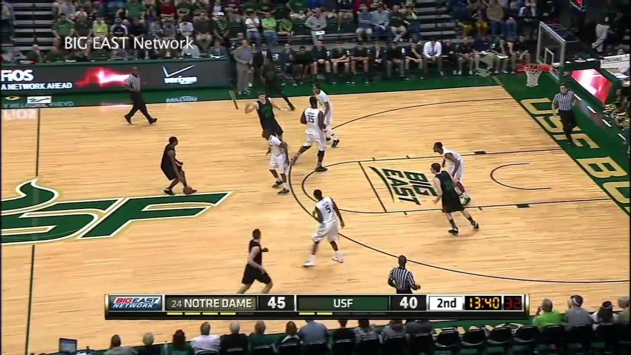 Notre Dame Defeats USF 73-65 Highlights - Notre Dame Men's Basketball