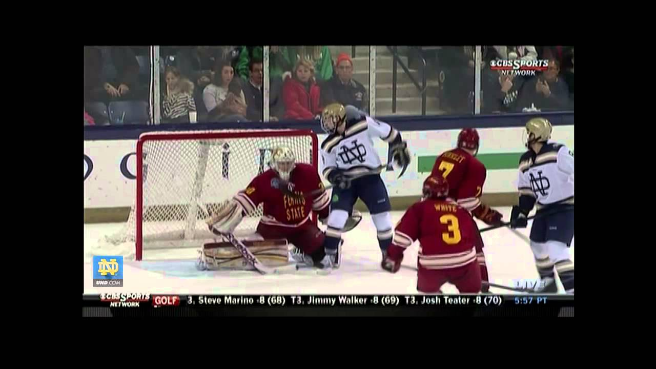Ferris State 3, Notre Dame 1 - Hockey