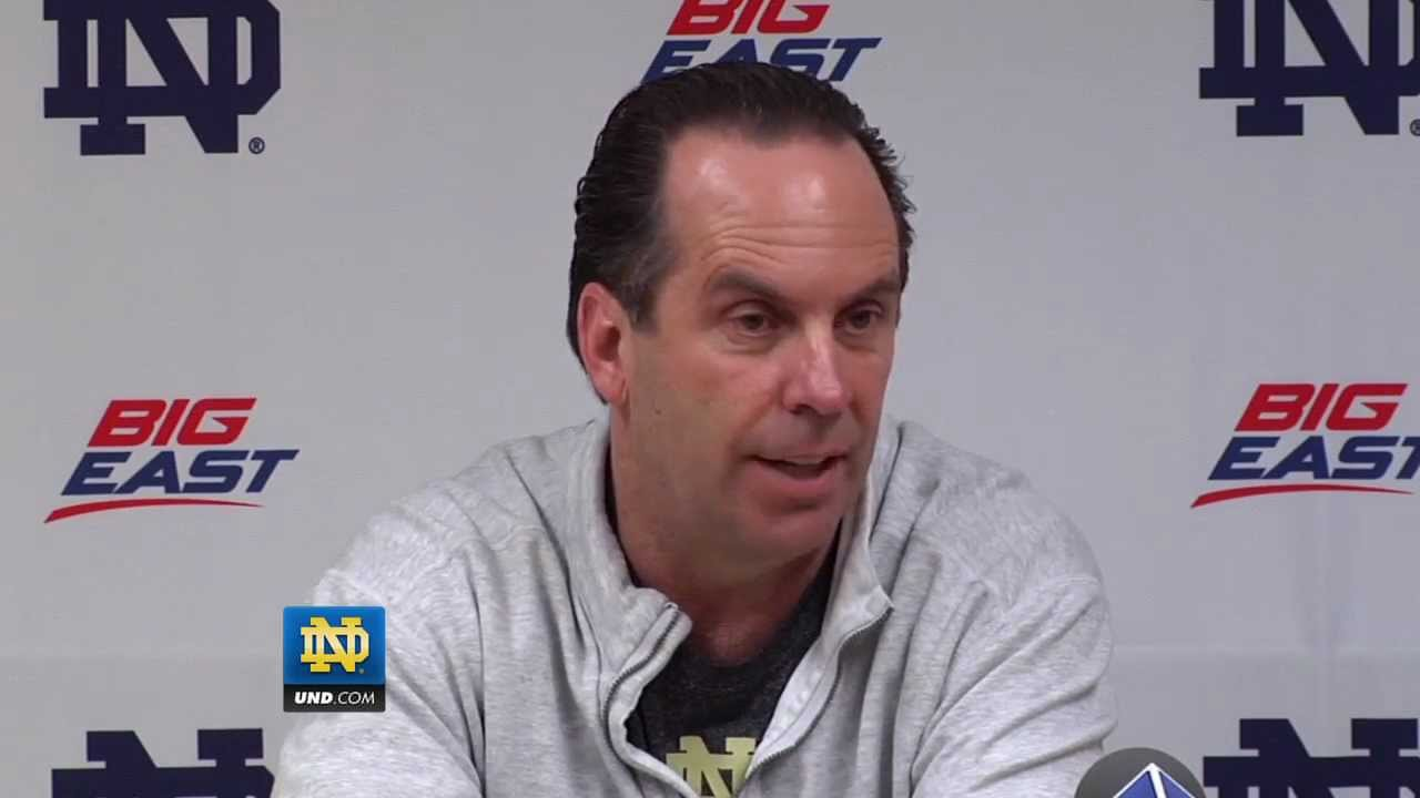 Mike Brey Press Conference January 23, 2012