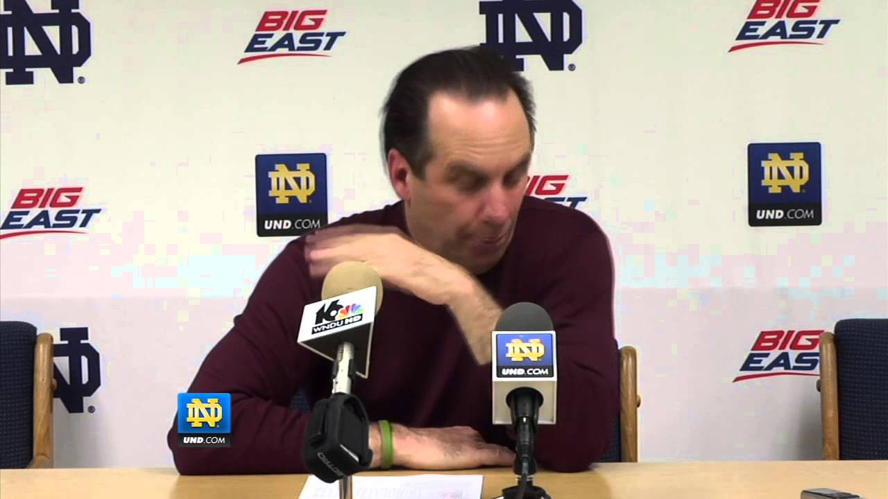 Coach Brey Georgetown Post Game Presser