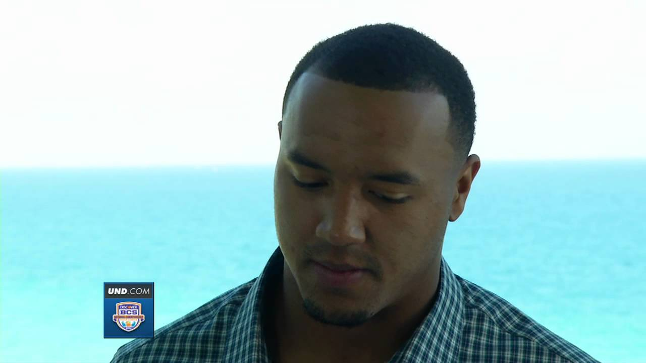 Michael Floyd BCS Championship Interview