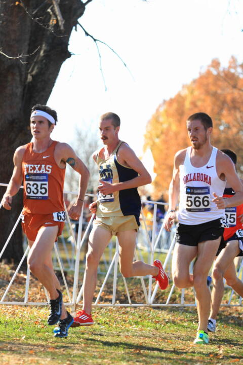 Junior Martin Grady was honored for his work on the course and in the classroom recently by the USTFCCCA.