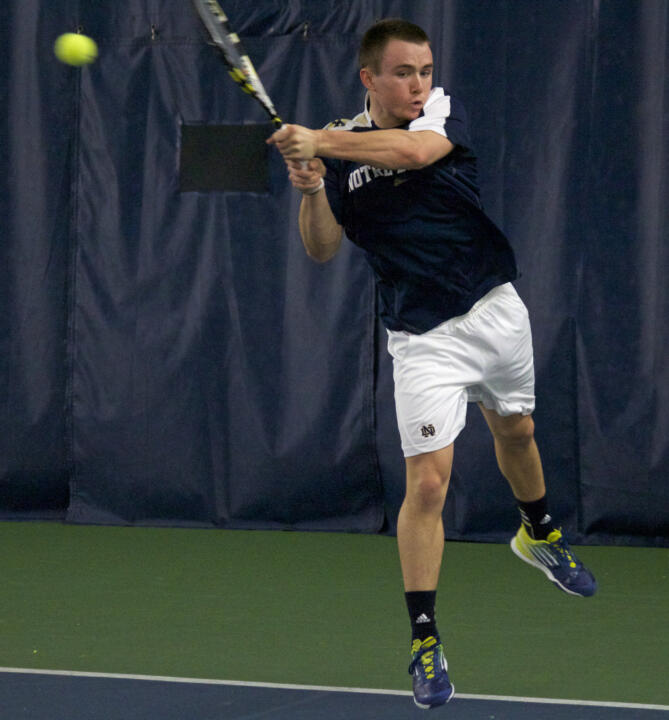 Junior Greg Andrews earned his second BIG EAST Men's Tennis Player of the Week award of the season Tuesday.
