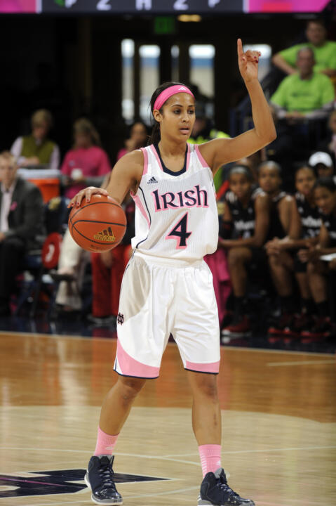 Notre Dame senior guard Skylar Diggins has been selected as one of 10 finalists for the 2013 Senior CLASS Award in women's basketball, it was announced Wednesday.