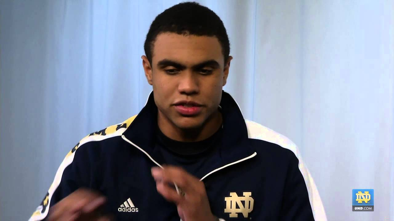 Corey Robinson Interview - 2013 Notre Dame Football Early Enrollee