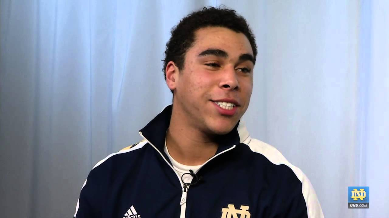 James Onwualu Interview - 2013 Notre Dame Football Early Enrollee