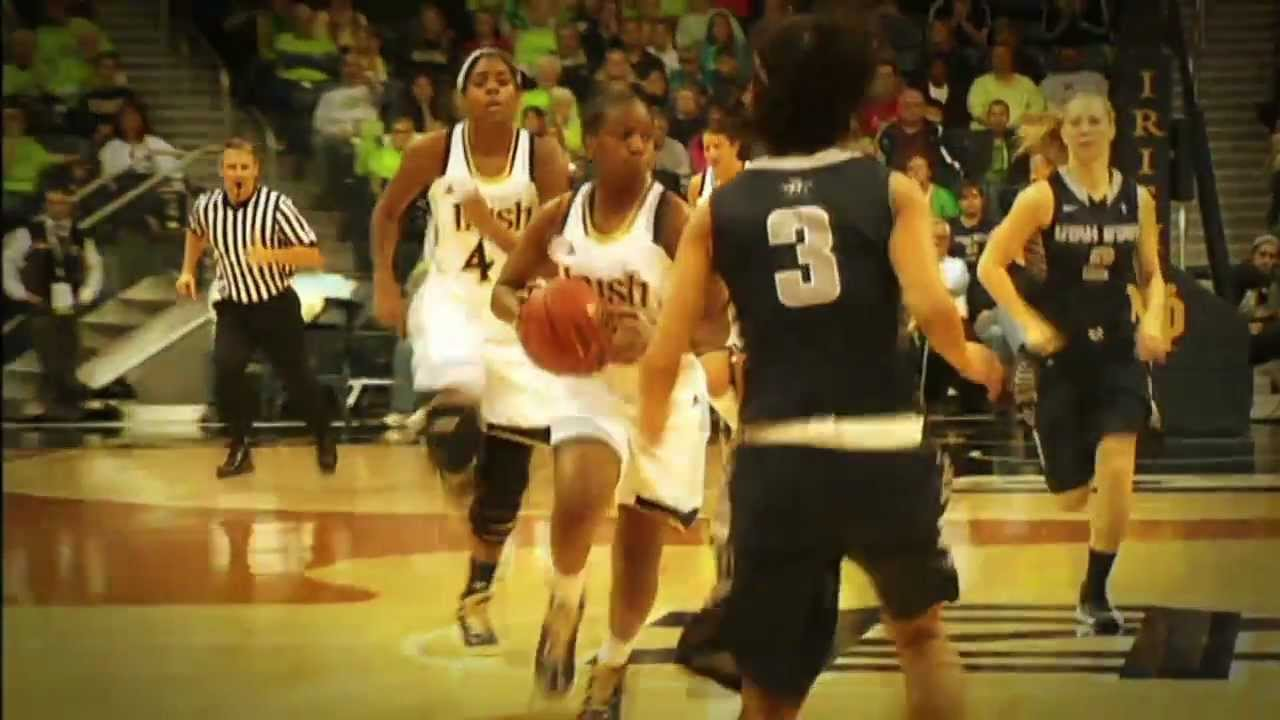 Notre Dame Women's Basketball vs Syracuse - Tip-off Video