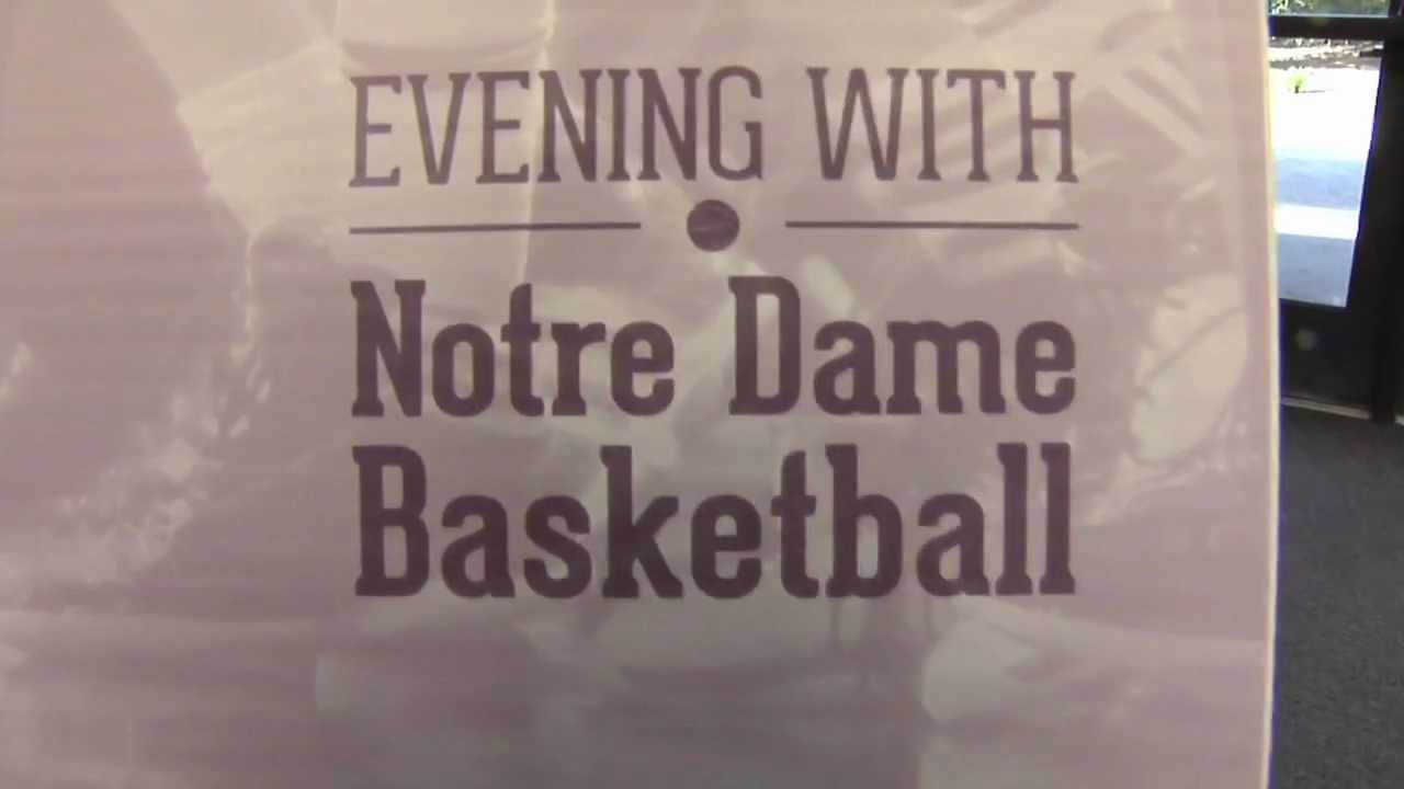 An Evening With Notre Dame Basketball