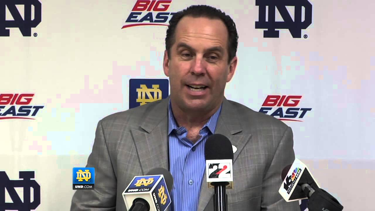 Mike Brey Cincinnati Post-Game - Notre Dame Basketball