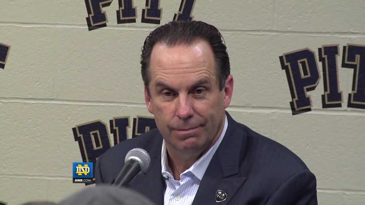 Coach Brey Pitt Post-Game - Notre Dame Men's Basketball