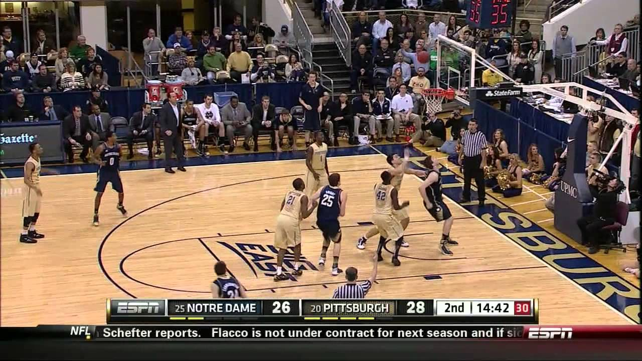 Irish Rally For Big Road Win At Pitt - Notre Dame Men's Basketball
