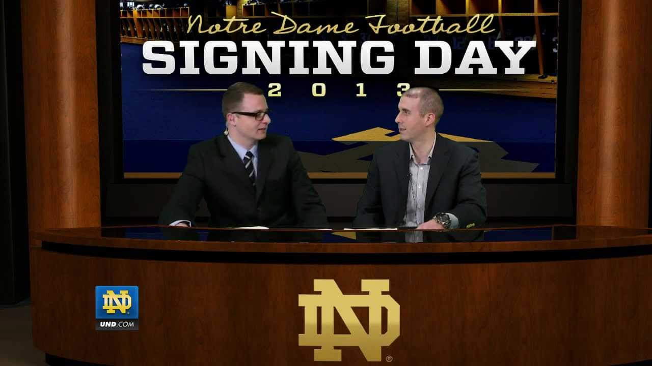Steve Wiltfong Signing Day Interview