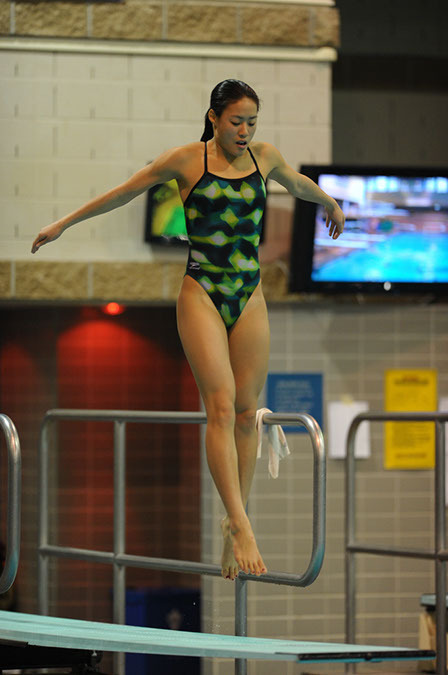 Senior Jenny Chiang was named the BIG EAST Women's Most Outstanding Diver Saturday night.