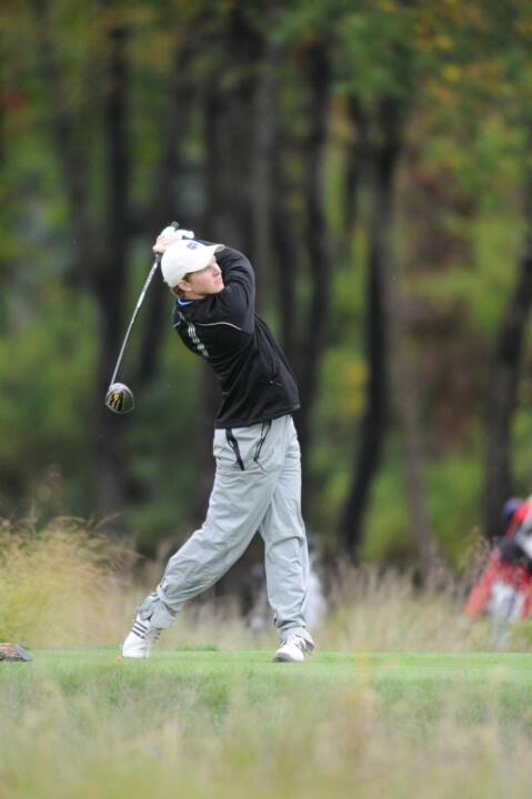 Senior Paul McNamara III captured the best round of the day with an even-par 72.
