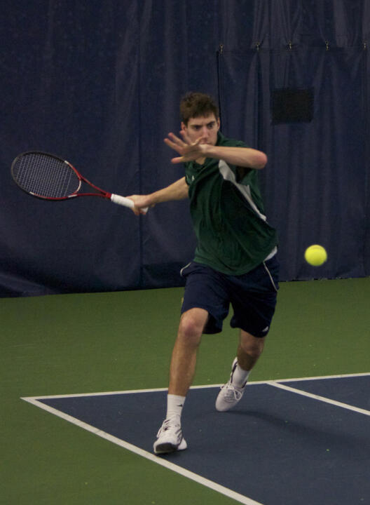 Junior Ryan Bandy earned a ranked win at six singles with a three-set win over No. 3 USC's Jonny Wang.