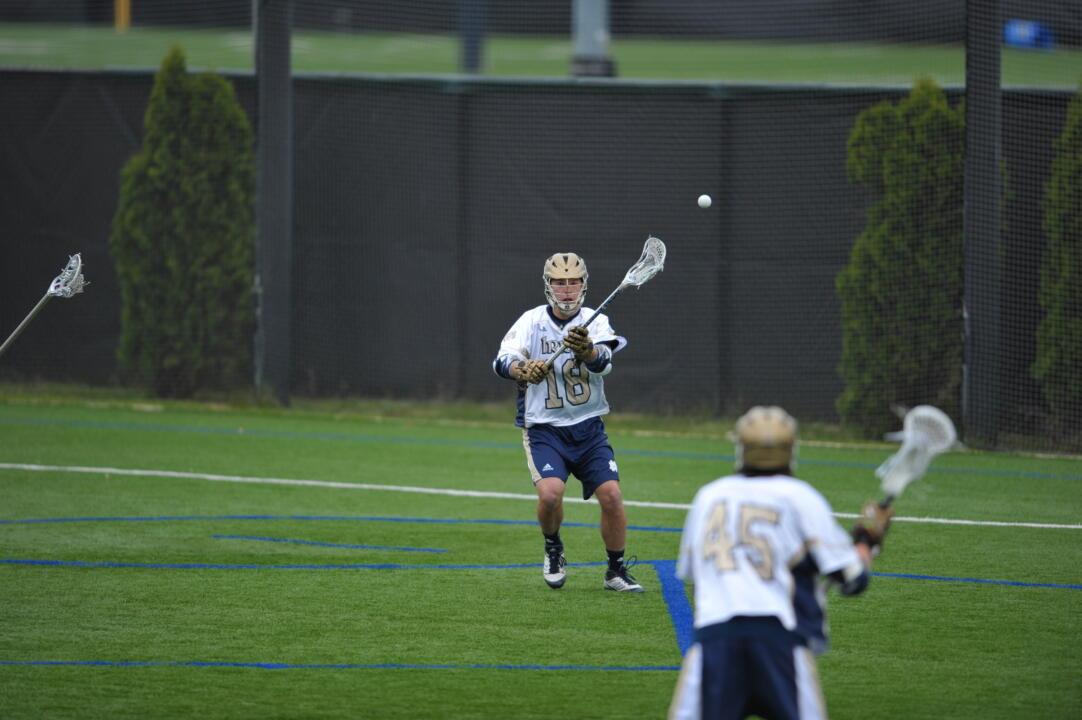 Sean Rogers tallied four goals in last season's 12-9 win over Rutgers.