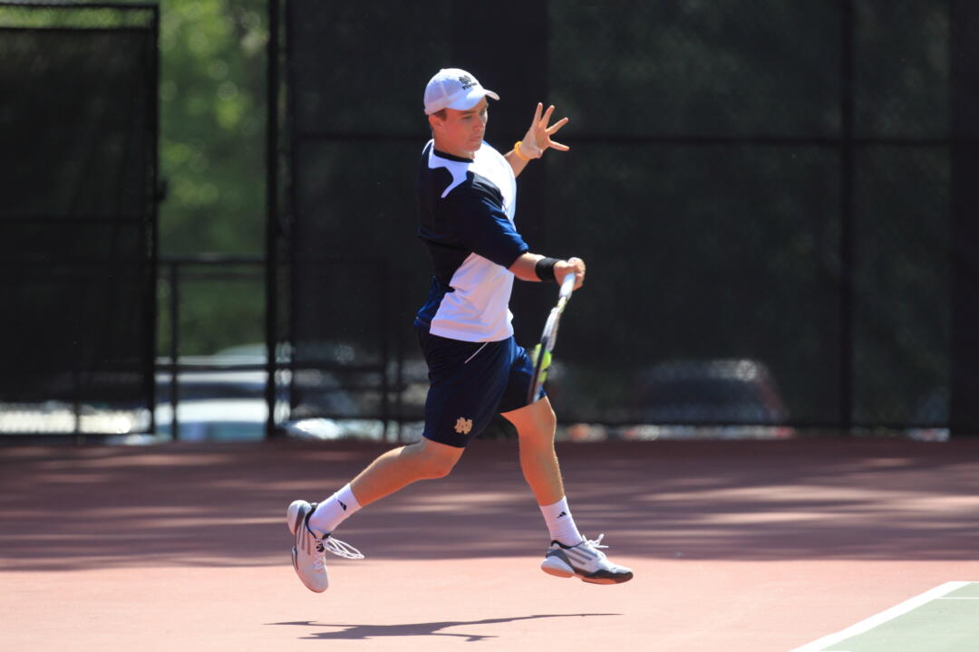 Junior Greg Andrews earned his third BIG EAST Men's Tennis Player of the Week scroll Tuesday.