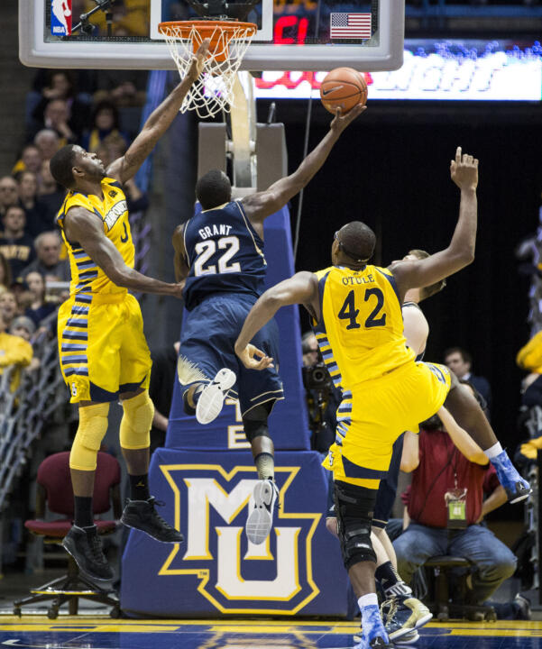 Jerian Grant scored 21 points against Marquette in the regular-season meeting.