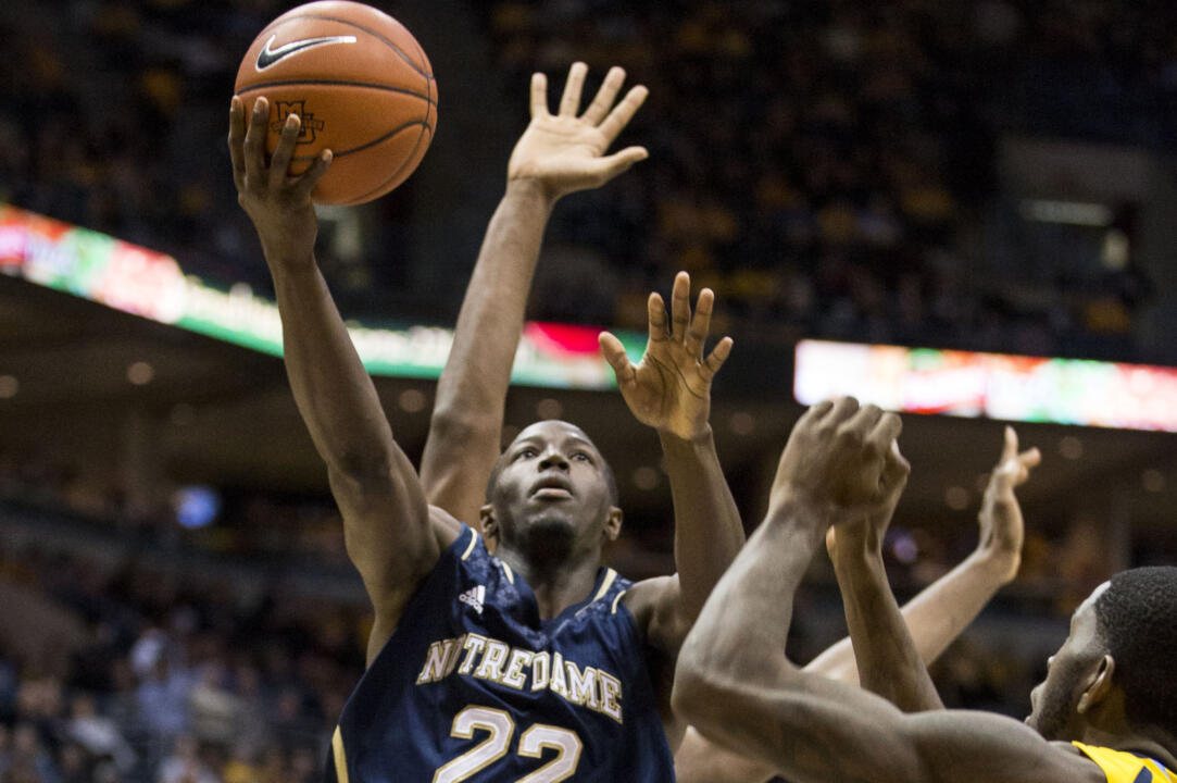 Jerian Grant led the Irish with 21 points.