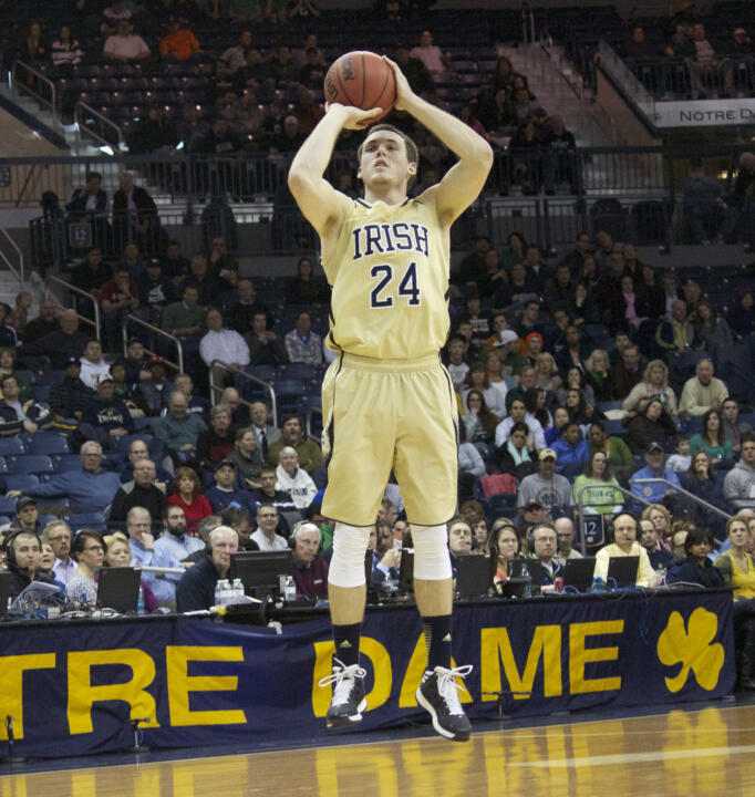 Pat Connaughton is 12-of-18 from three-point range in this season's BIG EAST Championship.