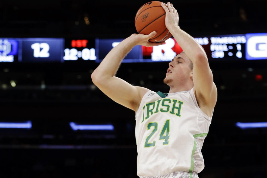 Pat Connaughton is the fifth Notre Dame player to earn BIG EAST Championship All-Tournament Team honors.