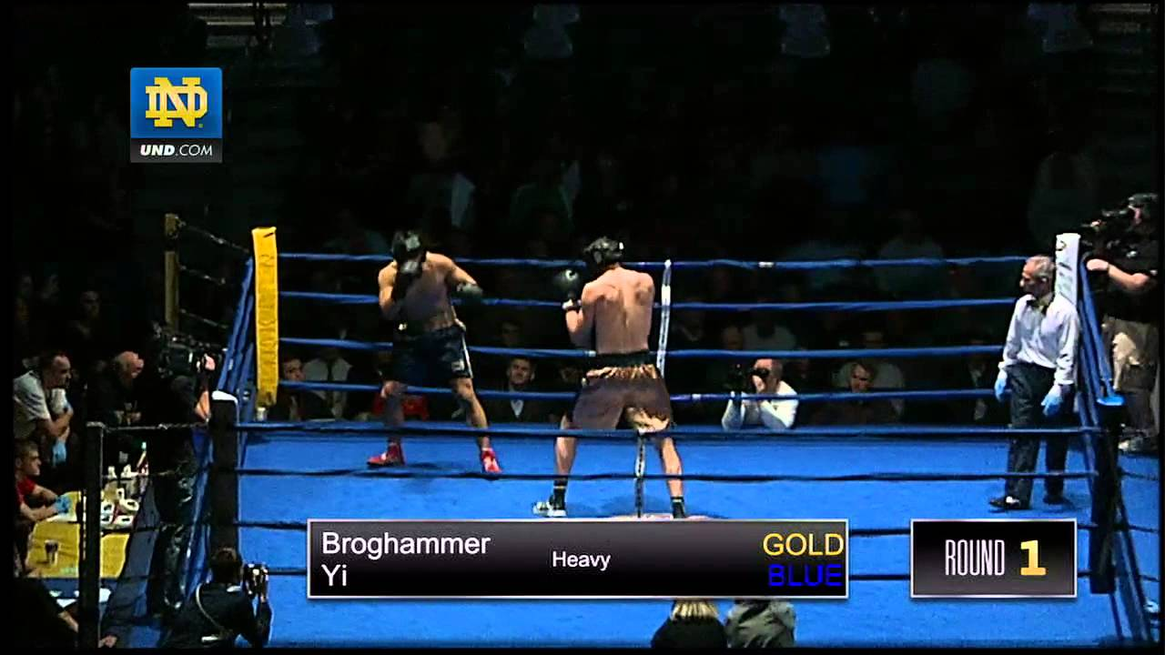 2013 Bengal Bouts Heavyweight Finals