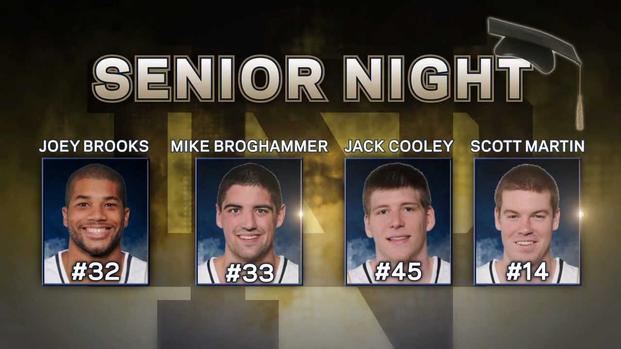 Scott Martin Senior Salute - Notre Dame Men's Basketball