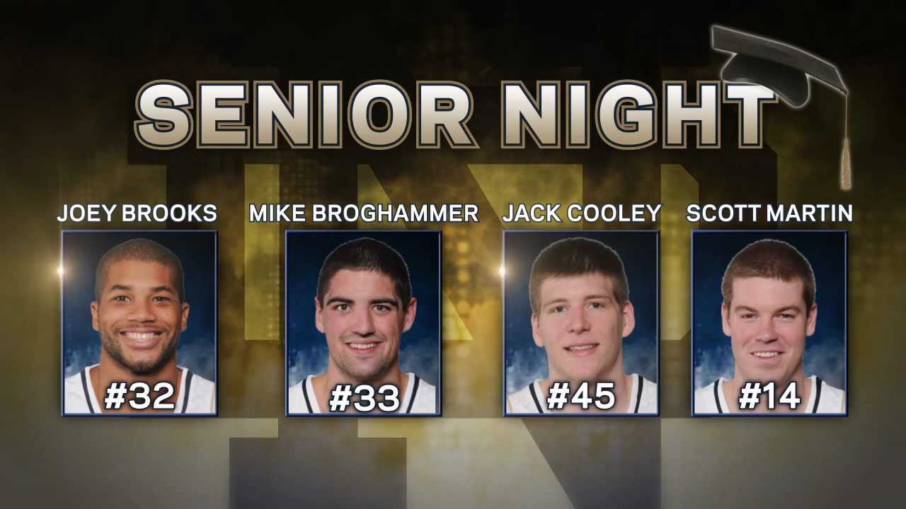Jack Cooley Senior Salute - Notre Dame Men's Basketball