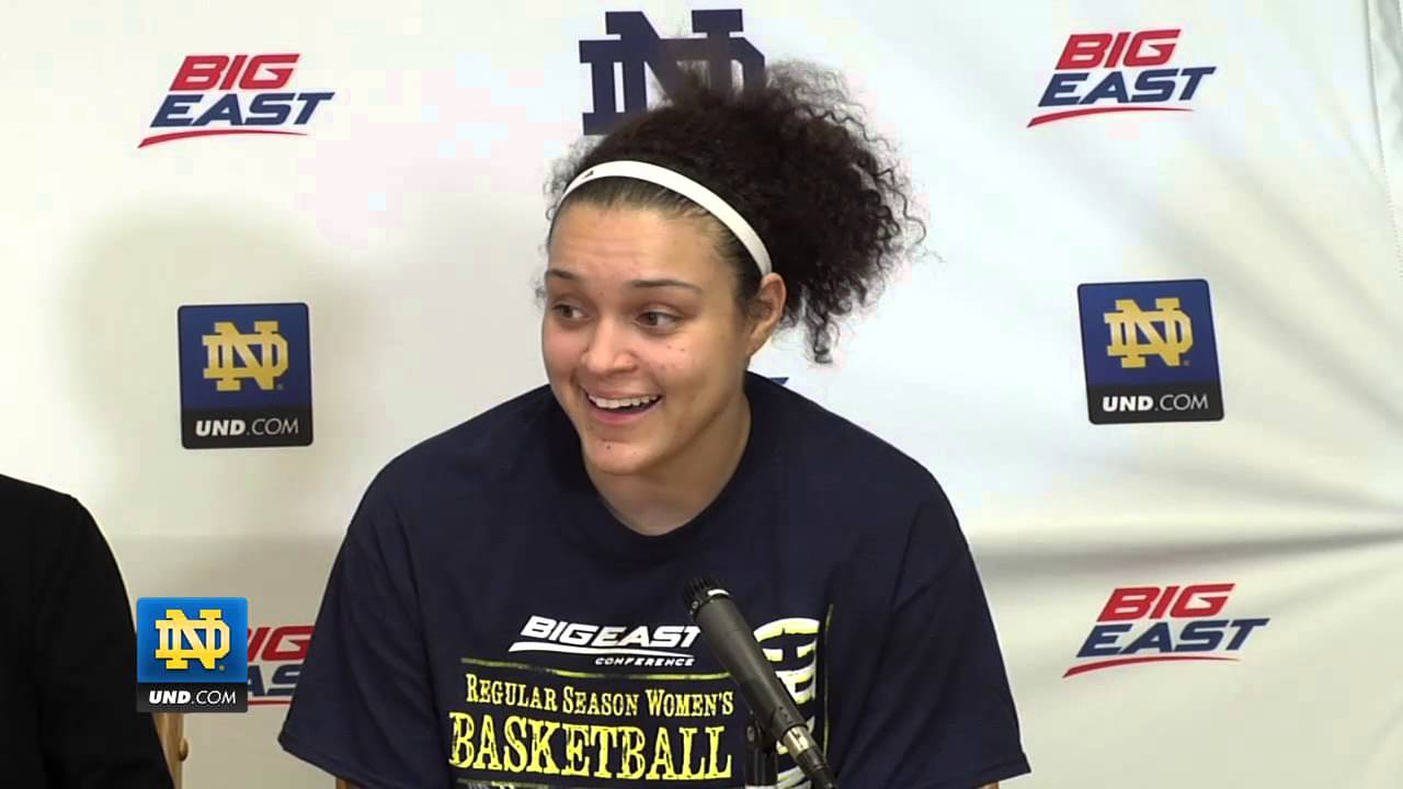 Post Game Press Conference Notre Dame UConn - Notre Dame Women's Basketball