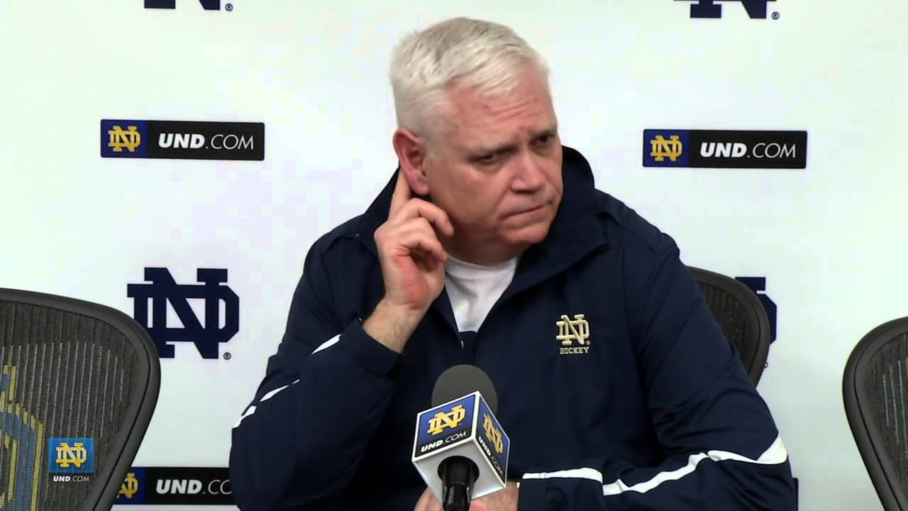 Coach Jackson NCAA Selection - Notre Dame Hockey