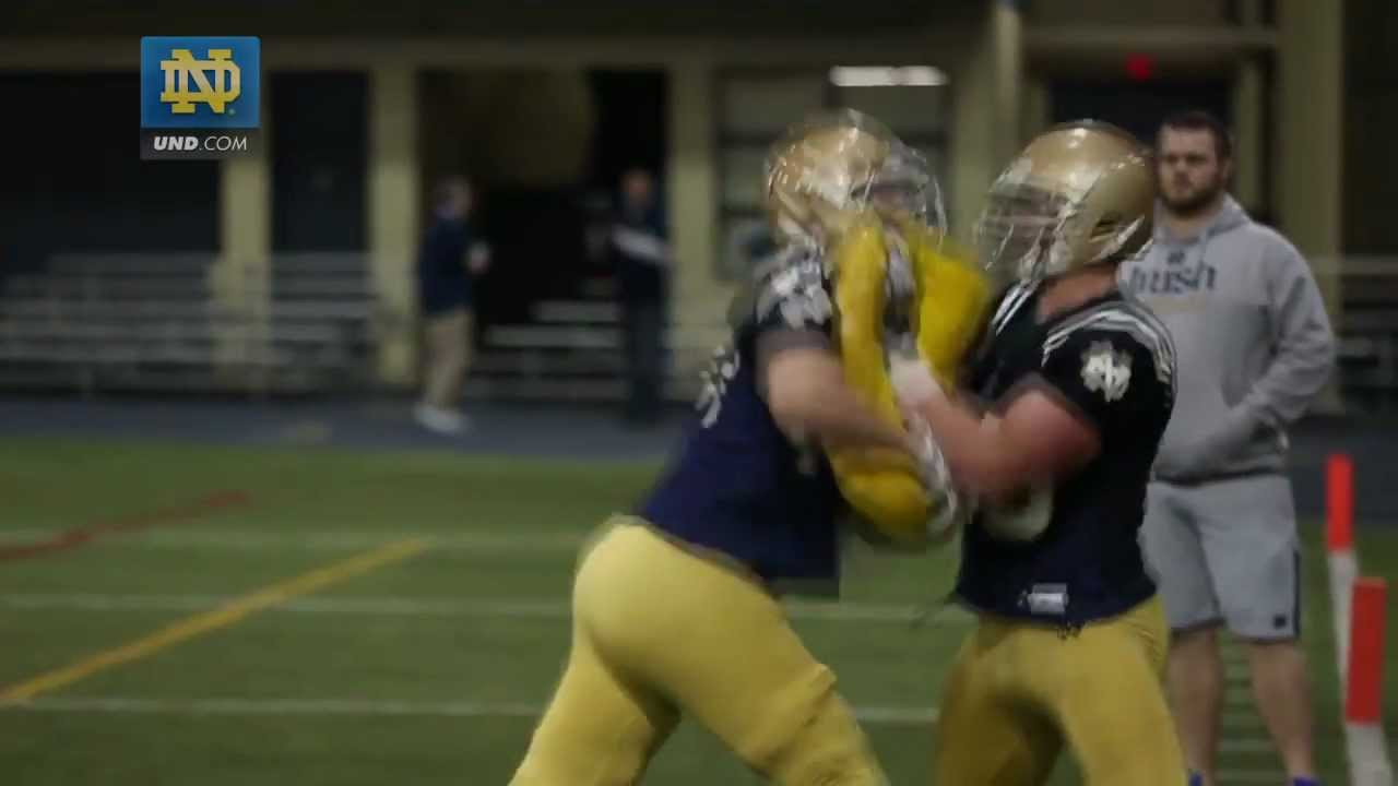 Notre Dame Football Spring Practice Update - March 21, 2013
