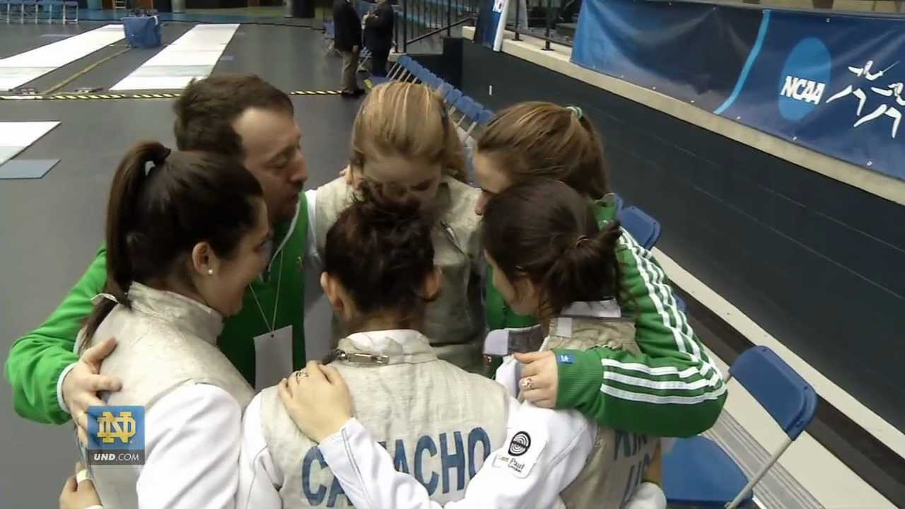 Women Prepare for NCAA Championship - Fencing