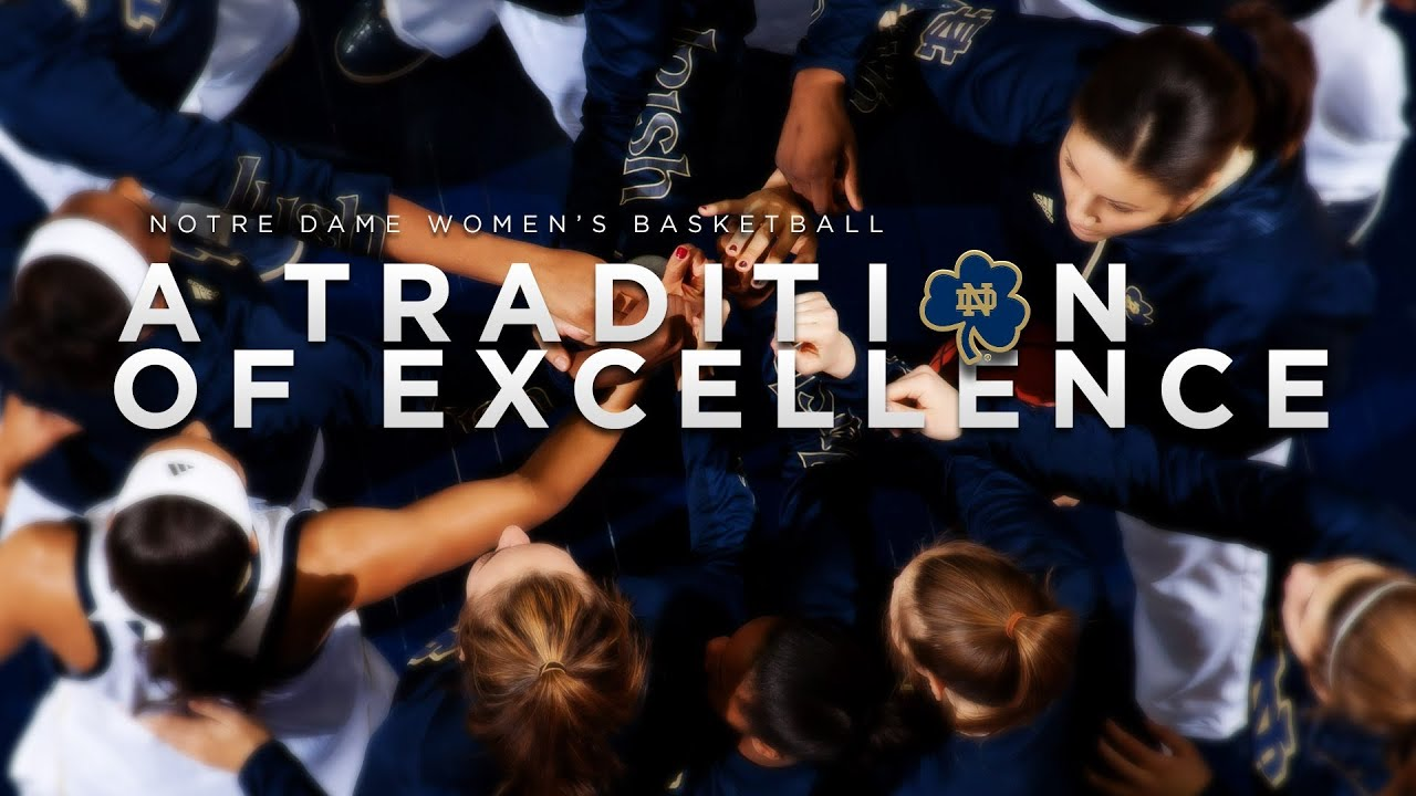 "Preview - ""Notre Dame Women's Basketball: A Tradition of Excellence"""