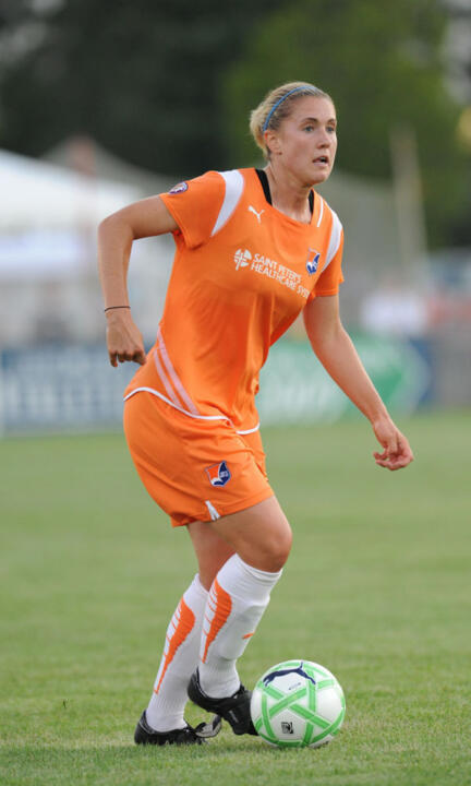 Former Notre Dame All-America midfielder Jen Buczkowski ('07), who helped two different teams reach the Women's Professional Soccer match (winning the '09 crown with Sky Blue FC) during the league's three-year run from 2009-11, is one of six Fighting Irish alums in the new National Women's Soccer League that kicks off this weekend at four venues around the country.