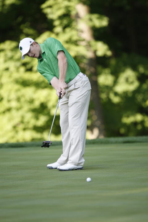 Senior Paul McNamara finished in fifth place at last season's BIG EAST Championship at the Watson Course at Reunion Resort