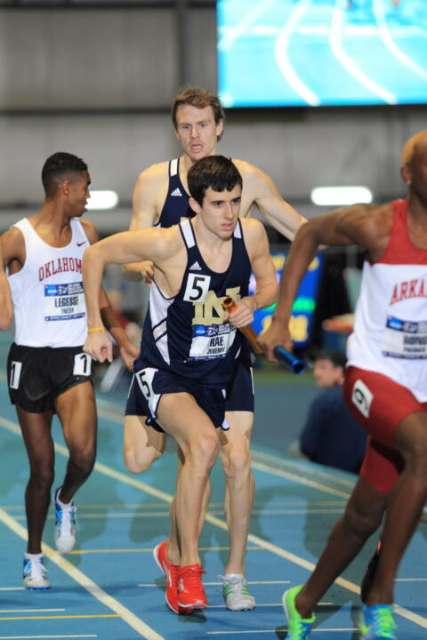 Jeremy Rae was named BIG EAST Men's Track Athlete of the Week Tuesday.