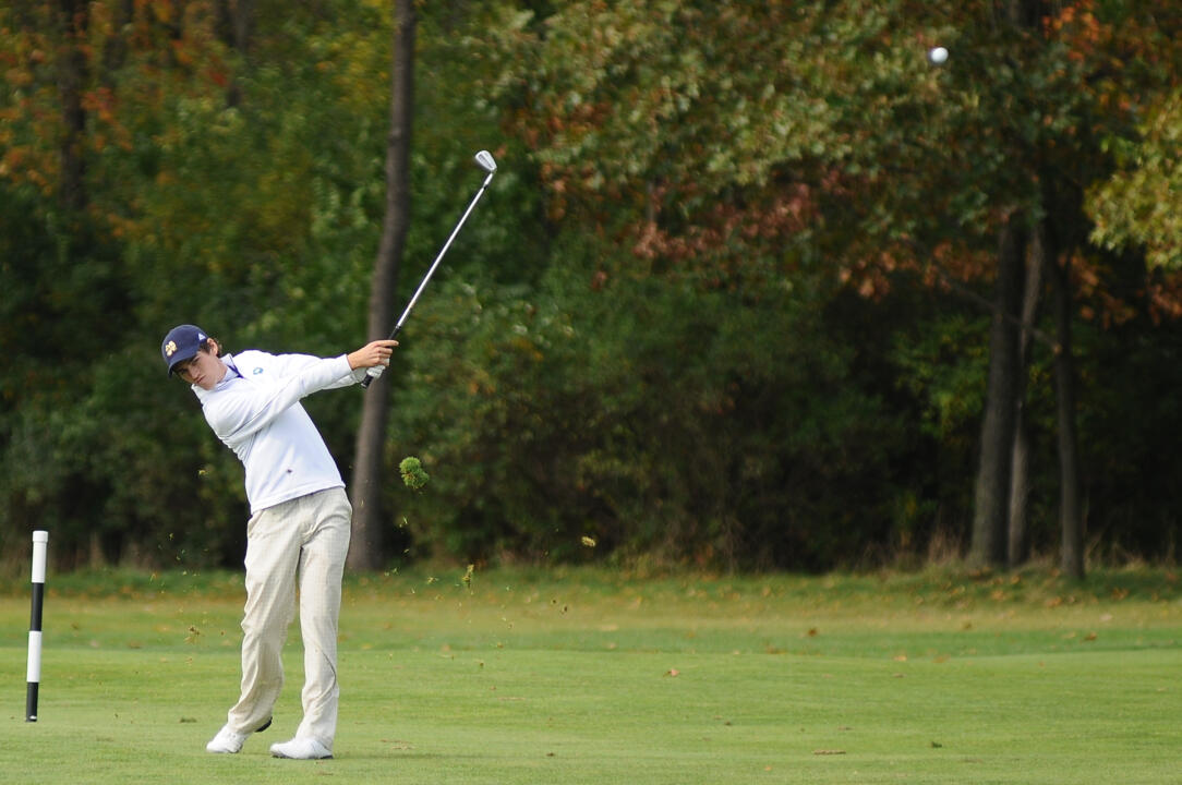 Niall Platt led all Notre Dame players with seven birdies on day one of the Irish Creek Collegiate