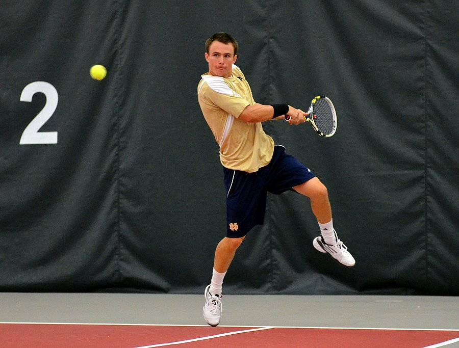 Junior Greg Andrews earned BIG EAST Men's Tennis Player of the Week for the fifth time this season Tuesday.