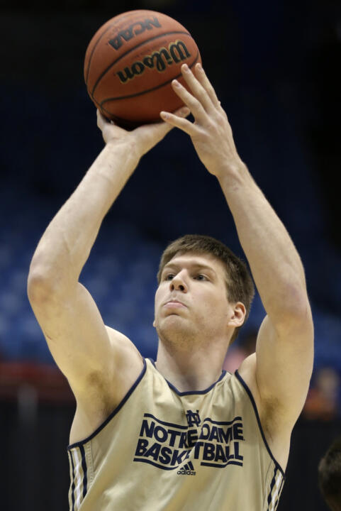 Jack Cooley averaged a double-double in his final season in an Irish uniform.