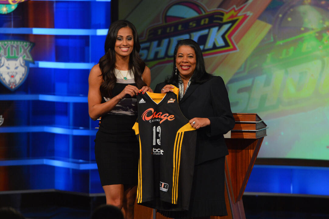 Senior guard/tri-captain Skylar Diggins became the second Notre Dame player is as many years to go No. 3 overall in the WNBA Draft when she was selected by the Tulsa Shock in the first round of the 2013 WNBA Draft on Monday night in Bristol, Conn.
