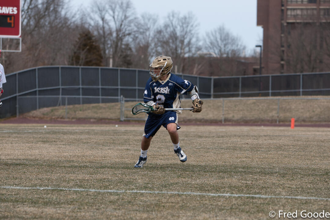 Junior attackman John Scioscia tallied four goals and one assist in the victory. All four goals came in the second half.