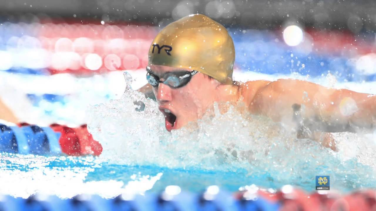 2013 NCAA Championships - Notre Dame Men's Swimming & Diving