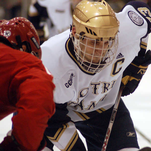 Former Irish captain Mark Van Guilder '08 signed a two-year, two-way contract with the Nashville Predators this week.