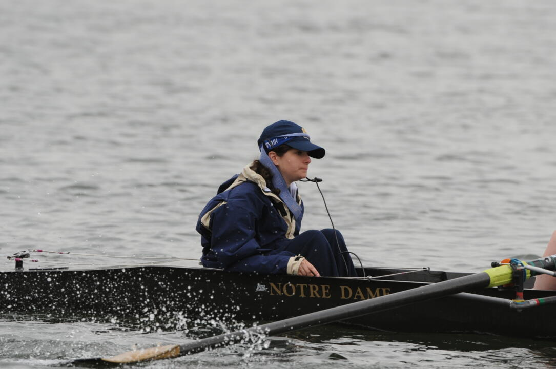 Senior coxswain Abby Meyers will make her second career NCAA Championship appearance