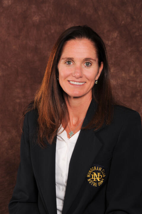 Haley Scott DeMaria ('95) was introduced as the Monogram Club's 67th president.