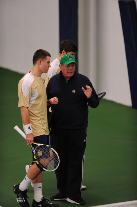 Bobby Bayliss, head coach of the Irish men's tennis team, is set to retire after 26 years at the helm.