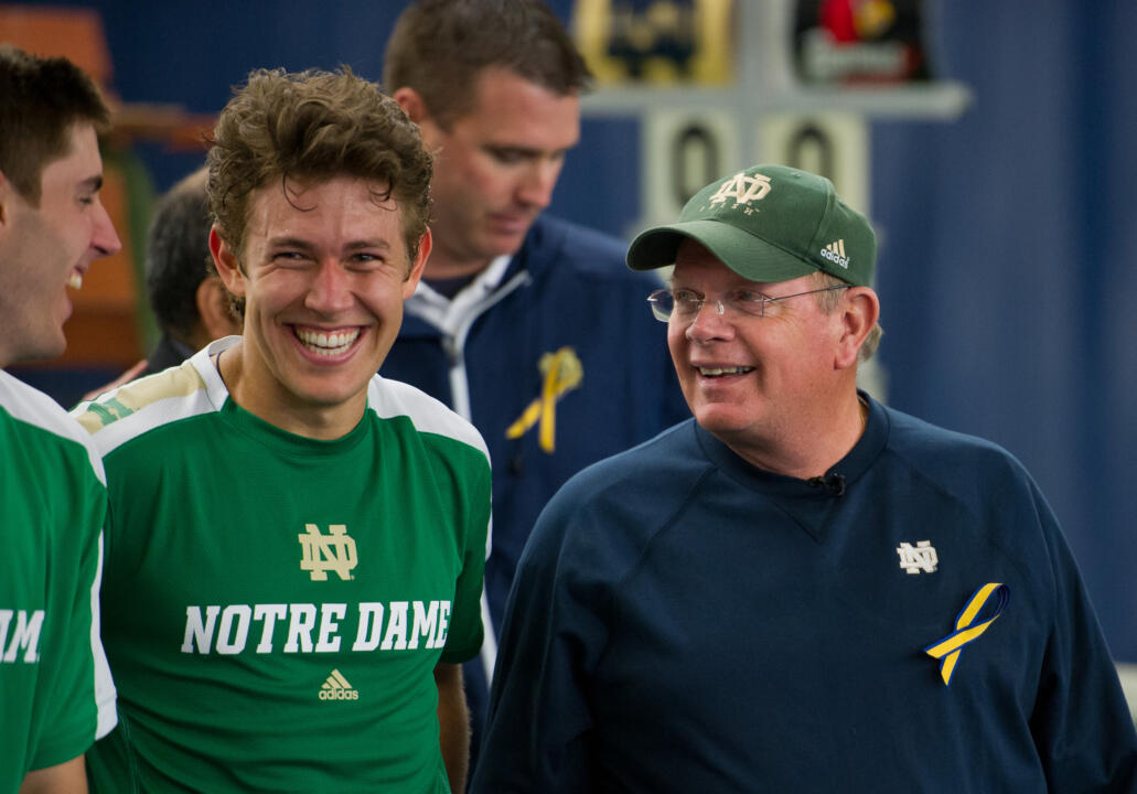 Head coach Bobby Bayliss has taken his Irish teams to 22 NCAA appearances in the last 23 years.