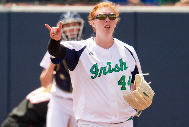 Laura Winter allowed one earned run in a complete game win over No. 9 Louisville Sunday